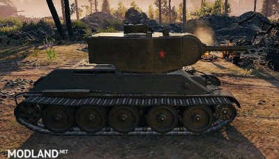 "T-34 Remodel ""T-34/122"" 1.0.1.1++ [1.0.1.1], 3 photo"